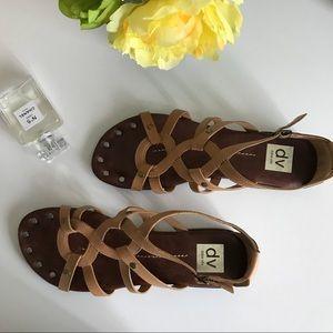 Dolce vita tan strappy sandals